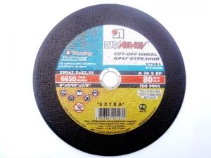 Круг отрезной по металлу Луга-Абразив 230x2.5x22