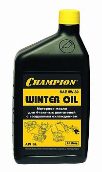 Масло зимнее для 4х-тактных двигателей Champion 1л 5w30