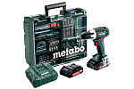 Аккумуляторная дрель-шуруповерт Metabo BS 18 LT SET 602102600
