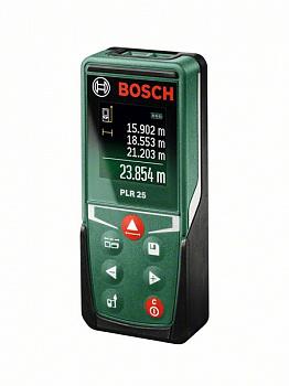 Дальномер лазерный Bosch PLR 25 (0.603.672.521)