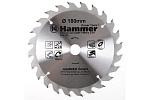 Диск пильный по дереву Hammer CSB 180x20/16мм 24T