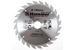 Диск пильный по дереву Hammer CSB 190x30/20/16мм 24T
