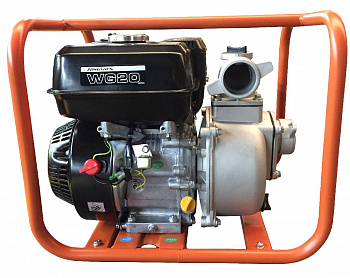 Мотопомпа Zongshen WG20 для слабозагрязнённой воды